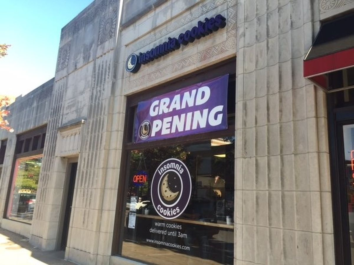 Insomnia Cookies Open In Southside, Delivering Cookies Until 3