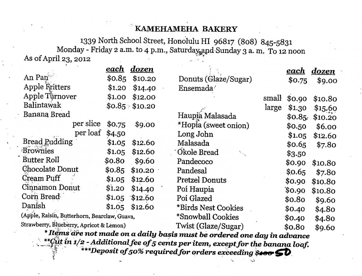 Great American Cookies Prices