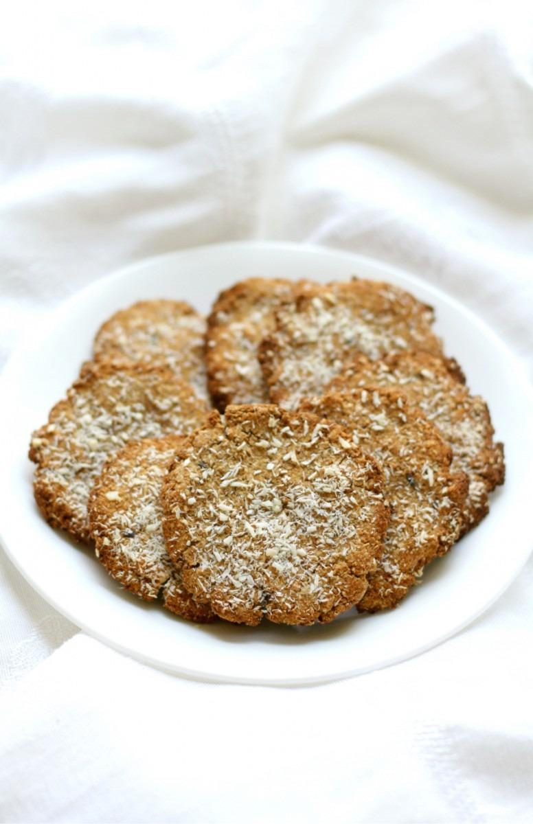 Lavender Coconut Tigernut Flour Cookies (gluten