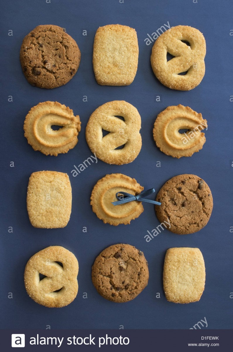 Many Types Of Cookies Stock Photo  52586735