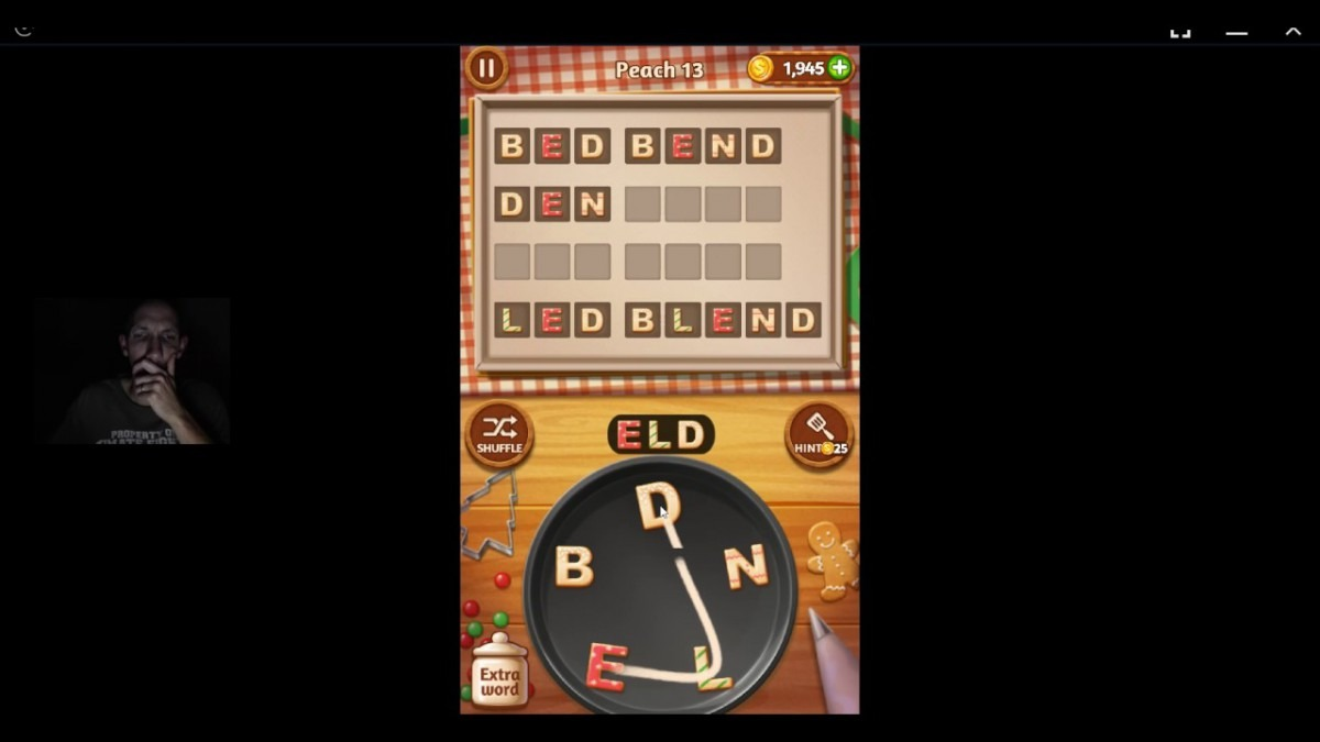 Word Cookies, Talented Chef, Peach Updated Level 13 Solved