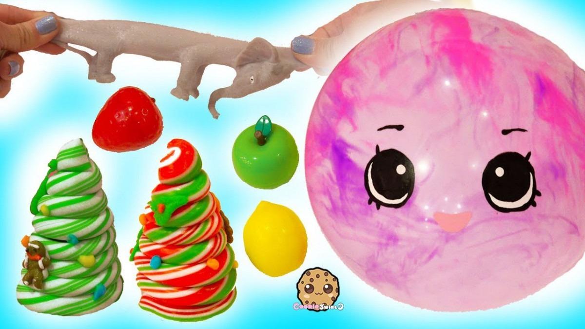 Giant Shopkins Ball   Squishy Stretchy Toys