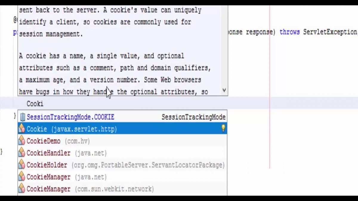 How To Create Cookie Using Java Servlet