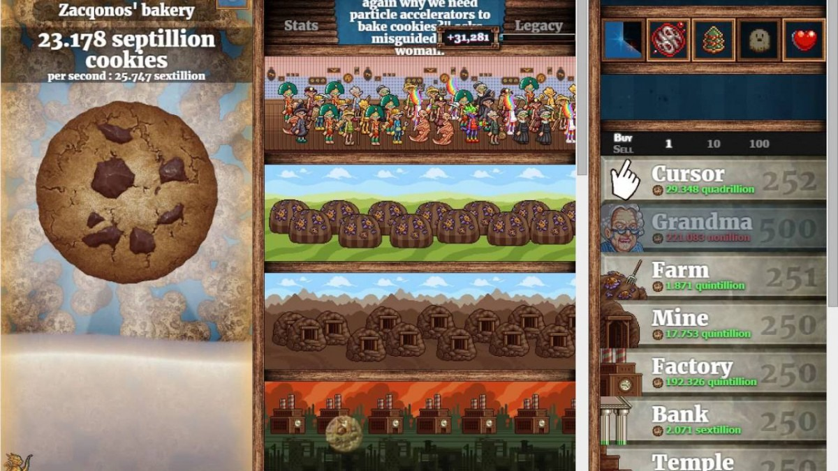 My Cookie Clicker Cheat Save Import