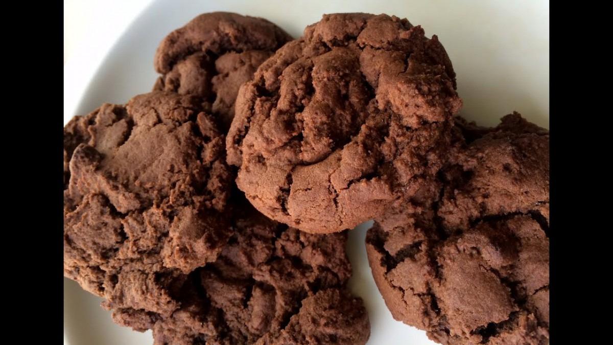 Eggless Chocolate Cookie Recipe