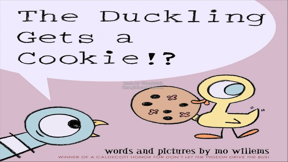 Audio Reading Of The Duckling Gets A Cookie !