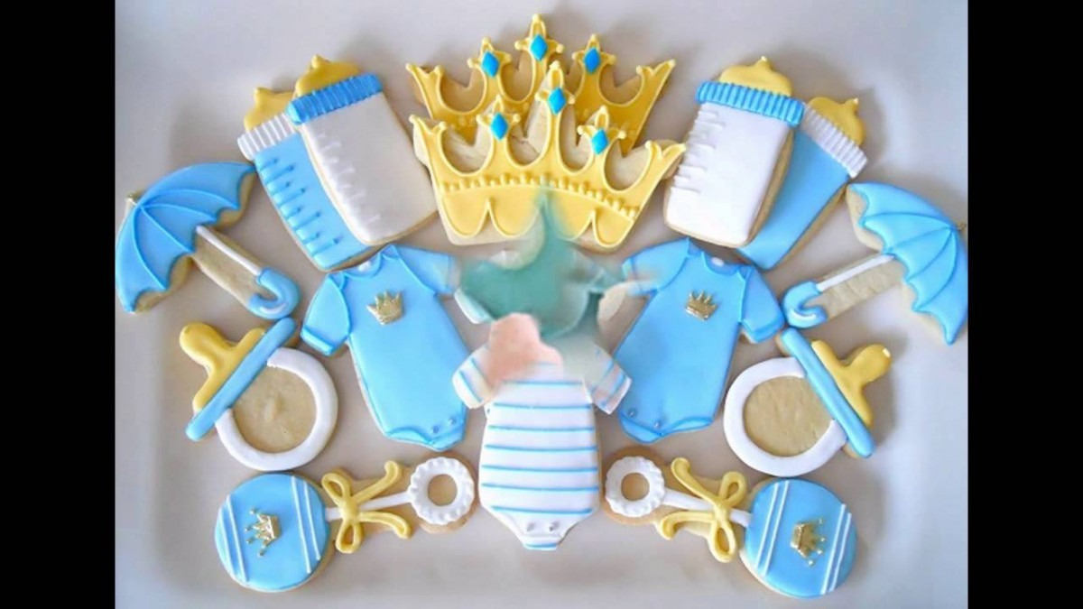 Home Baby Shower Cookies Decorations Ideas