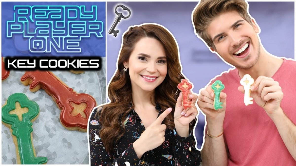 Ready Player One Cereal Cookies Ft Joey Graceffa!