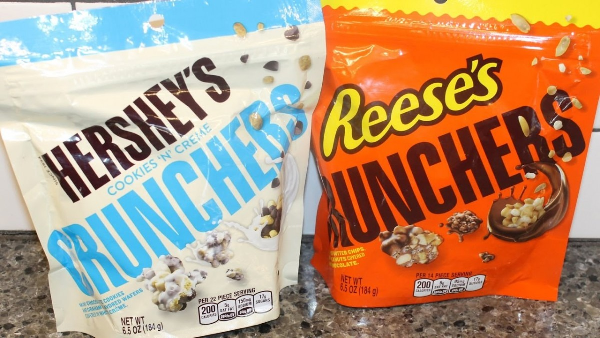 Hershey's Cookies 'n' Crème Crunchers & Reese's Crunchers Review