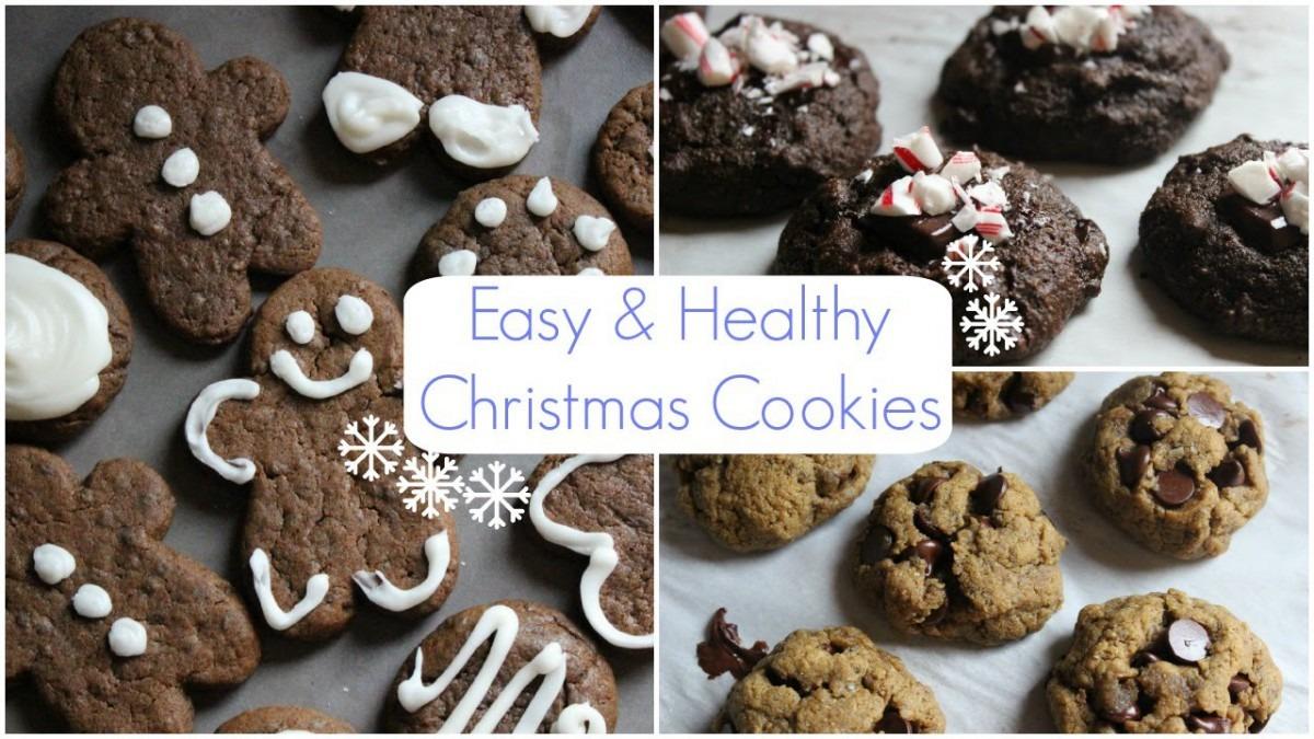 Easy & Healthy Christmas Cookies