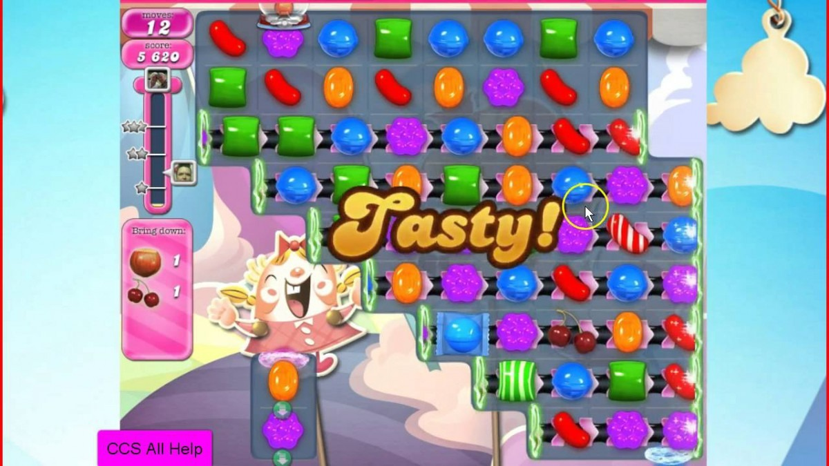 Candy Crush Saga Level 1532 No Boosters