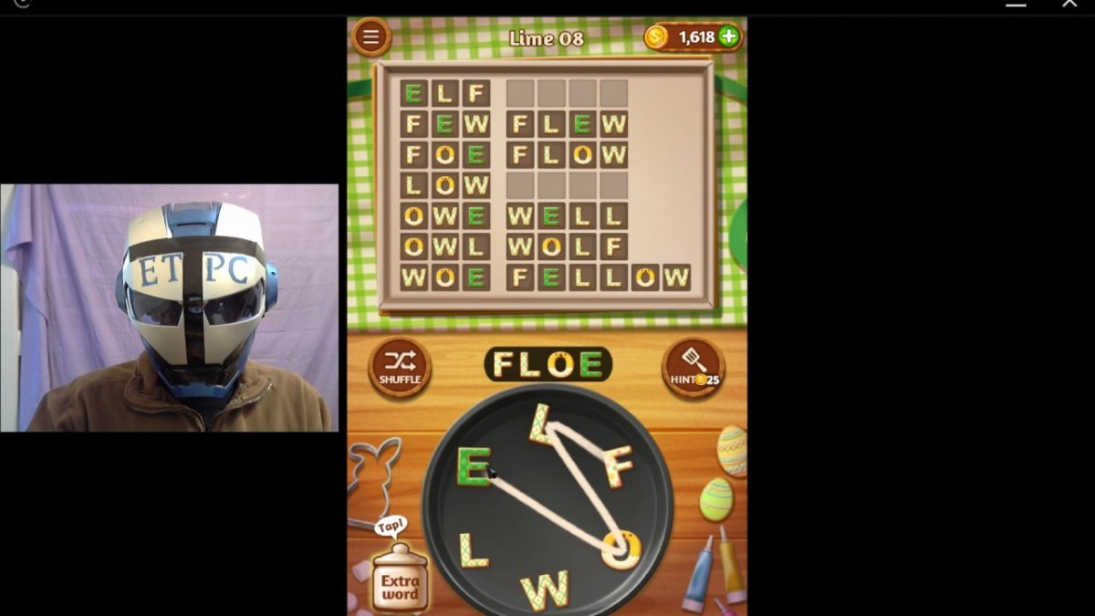 Word Cookies Lime 8 Solved