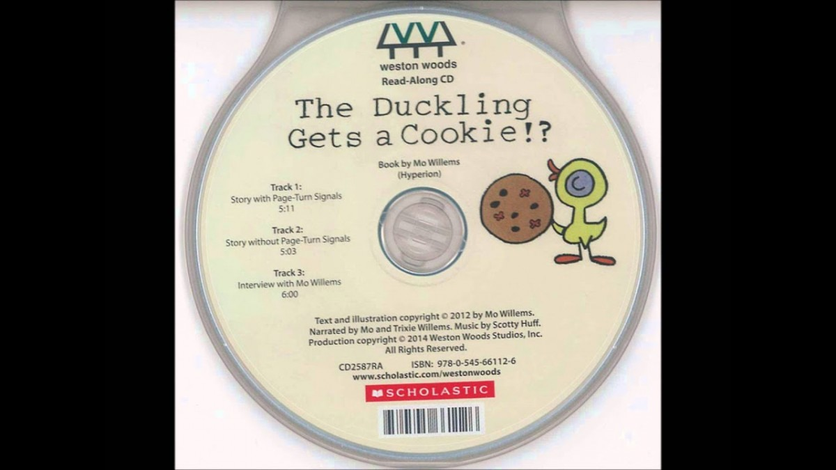 Afww0094 Duckling Gets Cookies 3│ 麥克兒童英文書店 │繪本有聲書
