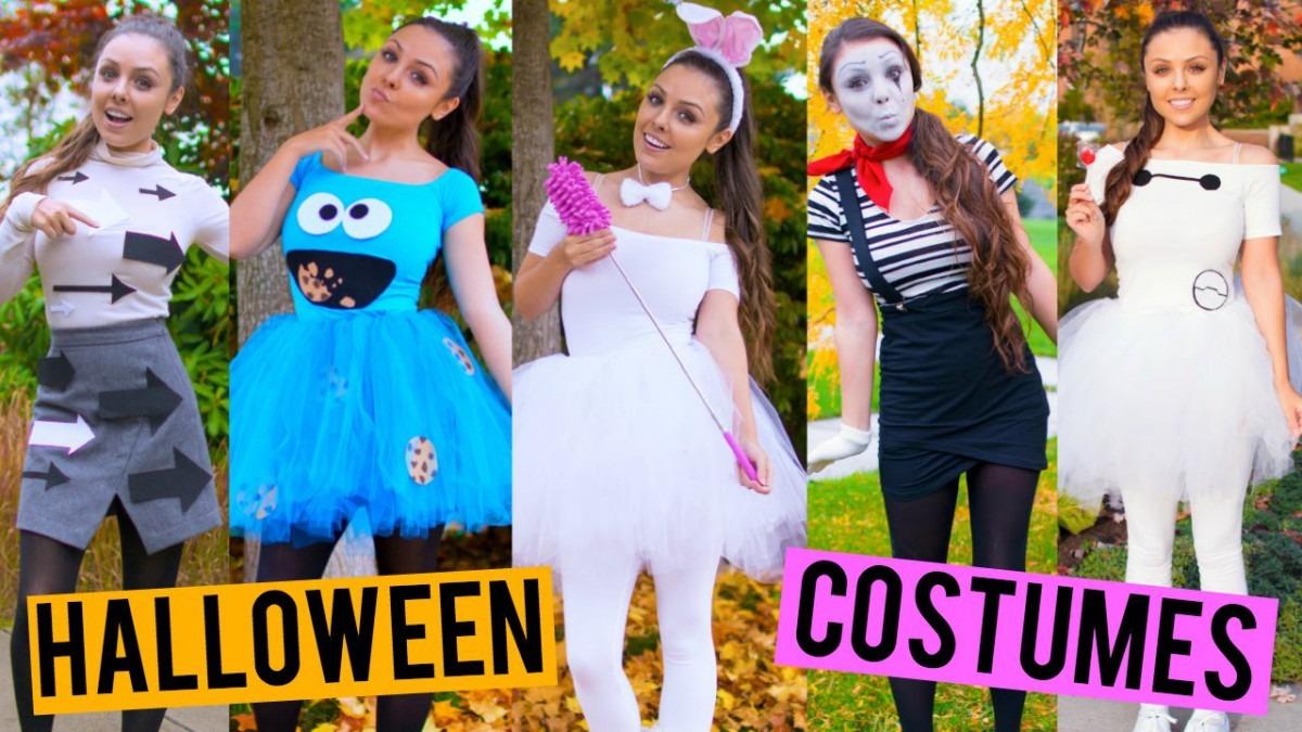 Last Minute Diy Halloween Costumes! Cookie Monster, Baymax, One