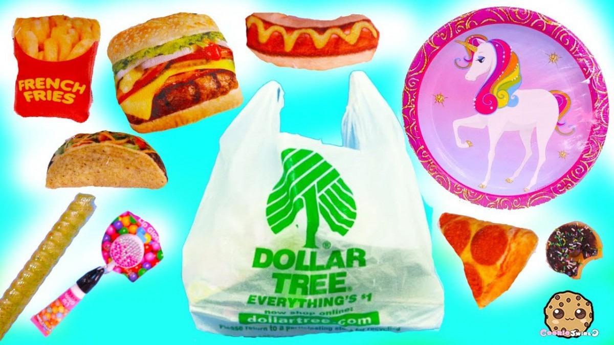 Unicorns , Squishies , Plush Food ! Dollar Tree Store $1 Haul
