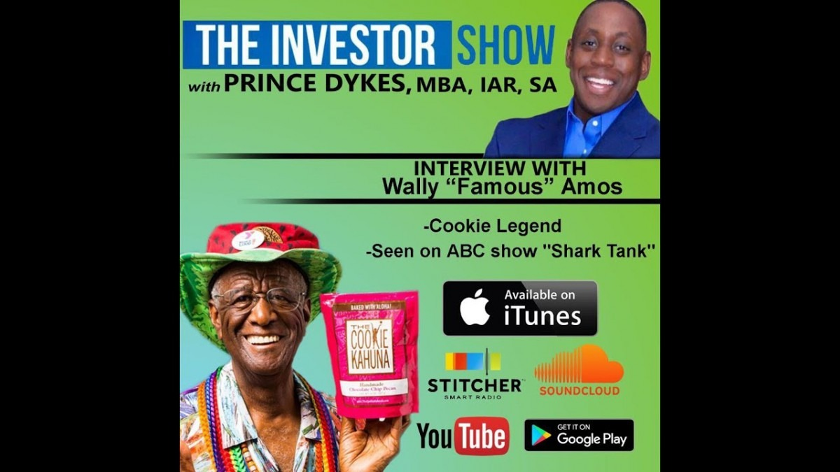 Podcast  Famous Amos Cookie Founder Wally Amos Interview