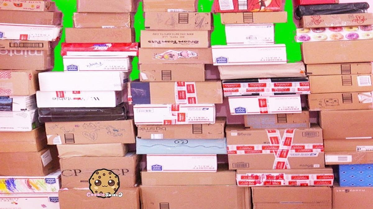 Giant Haul Surprise Box !!! Biggest Cookie Swirl C Fan Mail Box