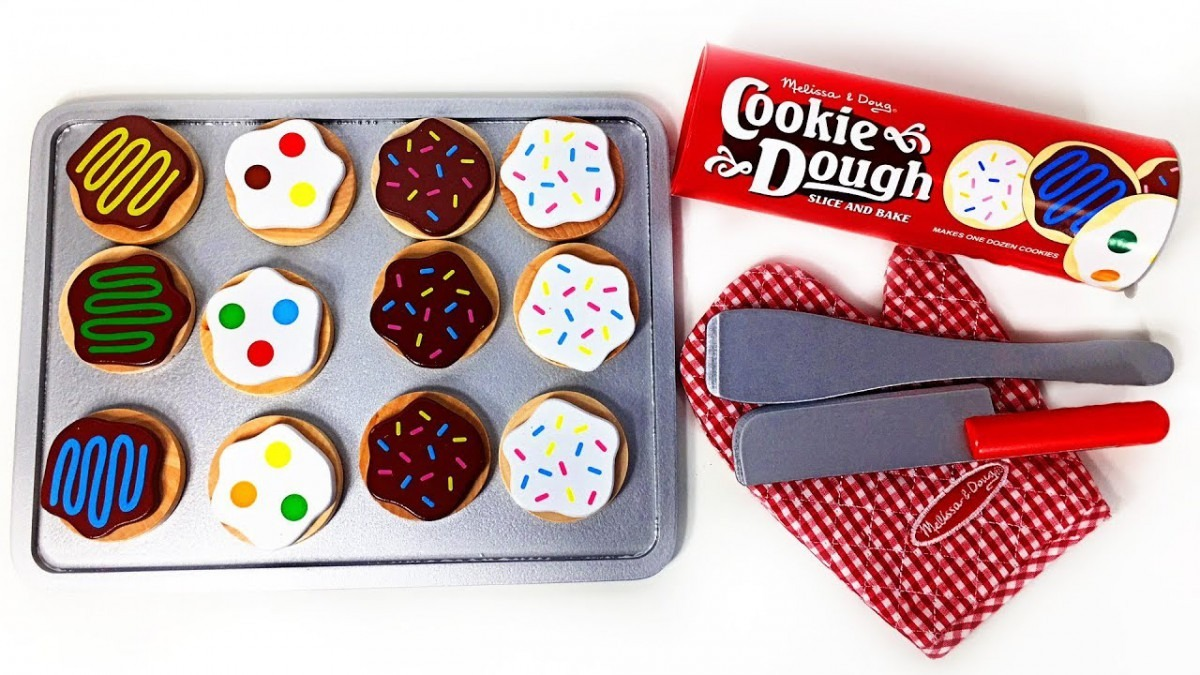 Best Learn Colors Numbers Slice And Bake Cookie Set Melissa And