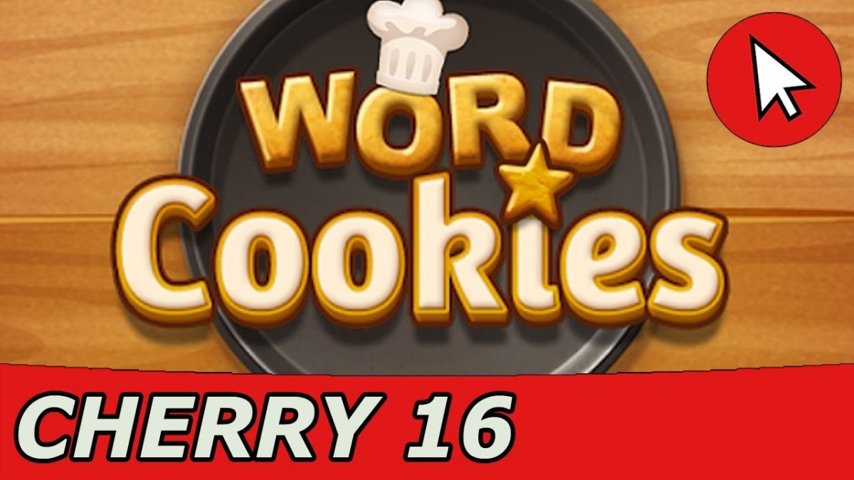 Word Cookies Cherry 16 Answers Guide (android Ios)