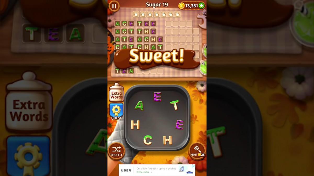 Word Cookies Sugar 19