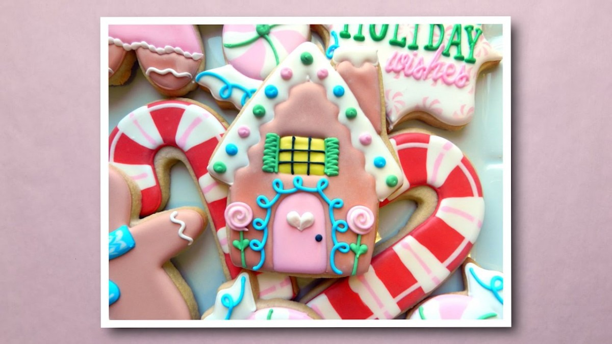 How To Decorate A Gingerbread House Cookie 2016