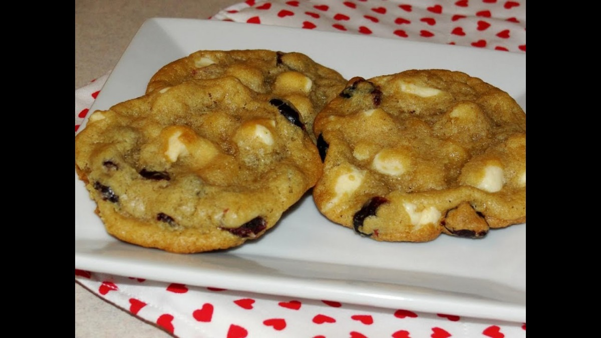 Cranberry Cheesecake Cookies (thank U Berry Munch Girl Scout