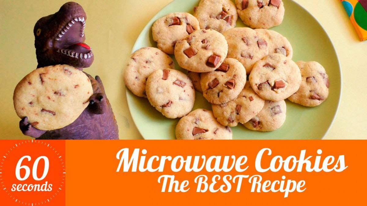 Microwave Cookies  Chocolate Chip Cookies In The Microwave In 5