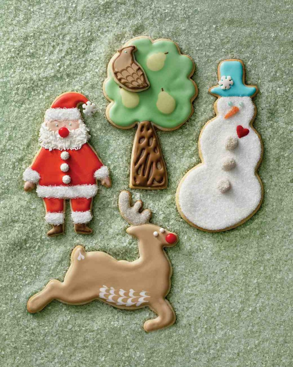 Martha Stewart Holiday Cookies