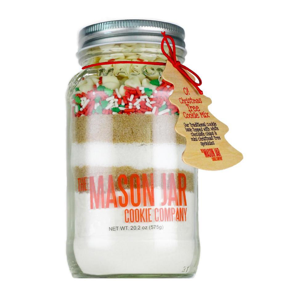 Mason Jar Cookie Company 20 2 Oz  Cookie Mix O Christmas Tree