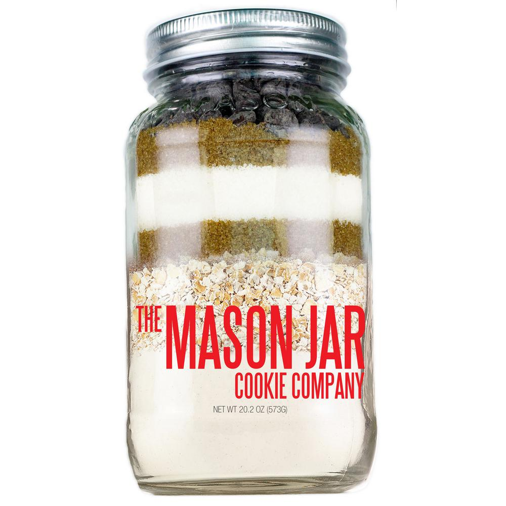 The Mason Jar Cookie Company 20 2 Oz  Cookie Mix Oatmeal Chip
