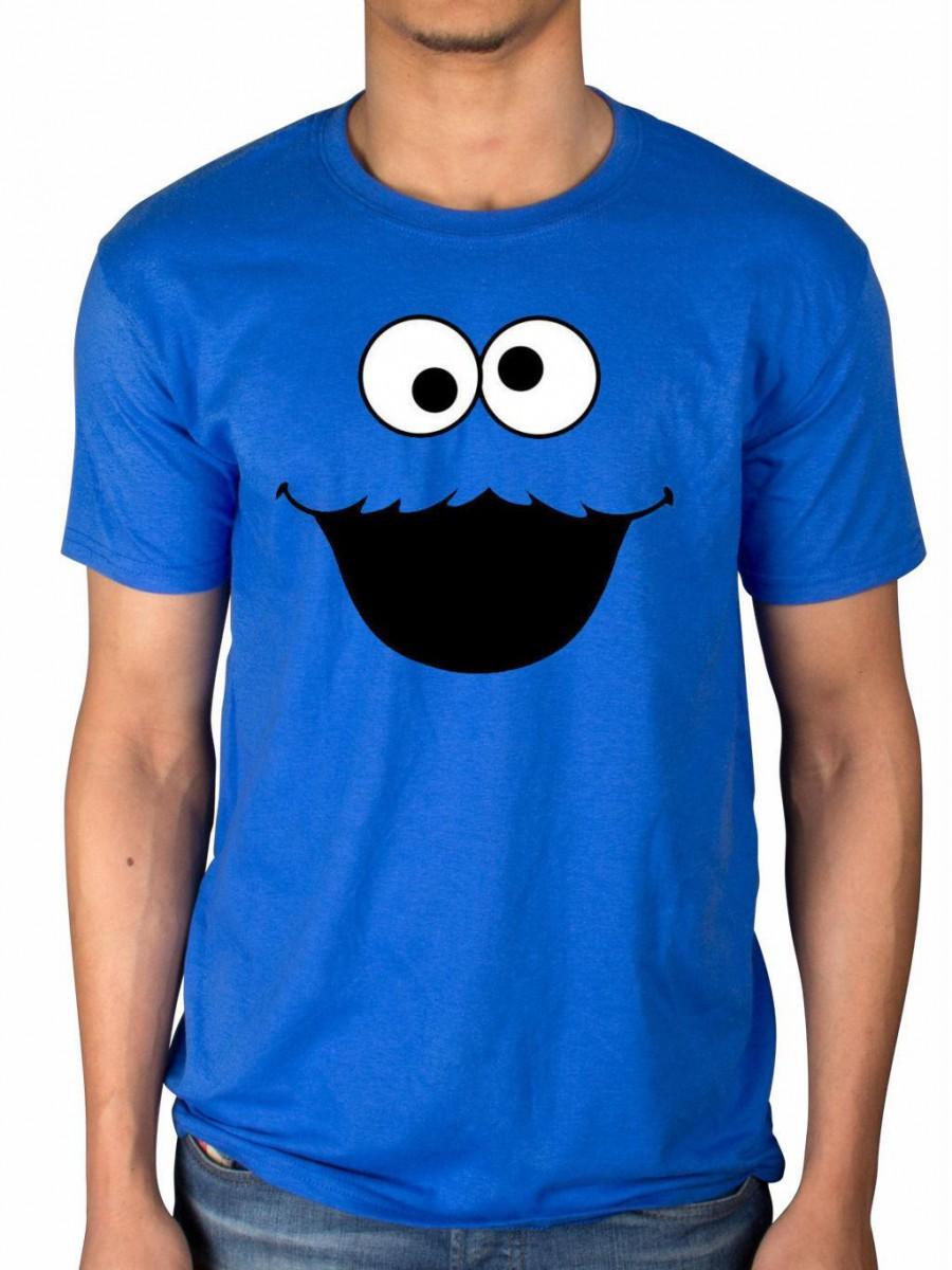 Official Sesame Street Cookie Monster T Shirt Elmo Early Bird