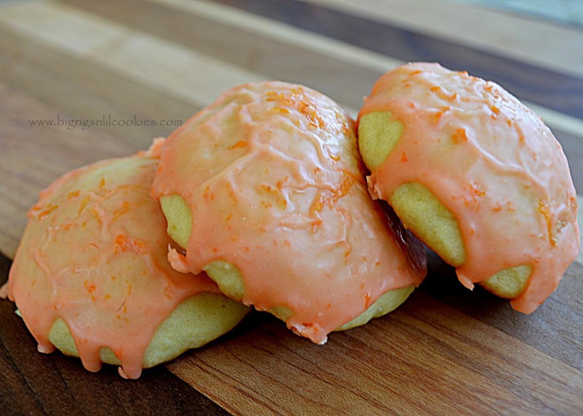 Big Rigs 'n Lil' Cookies  Orange Drop Cookies