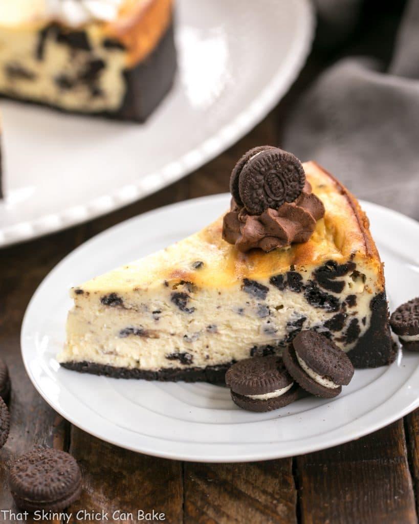 Oreo Cheesecake With Oreo Cookie Crust