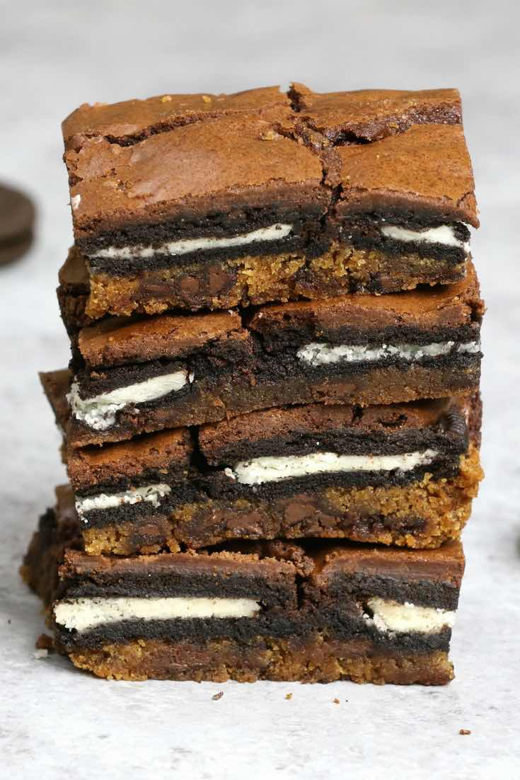 Pictures Of Cookie Dough Oreo Brownie