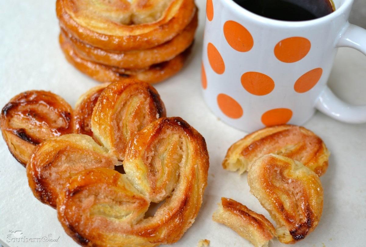 Cinnamon Sugar Elephant Ear Cookies