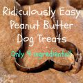 Peanut Butter Cookies For Dogs