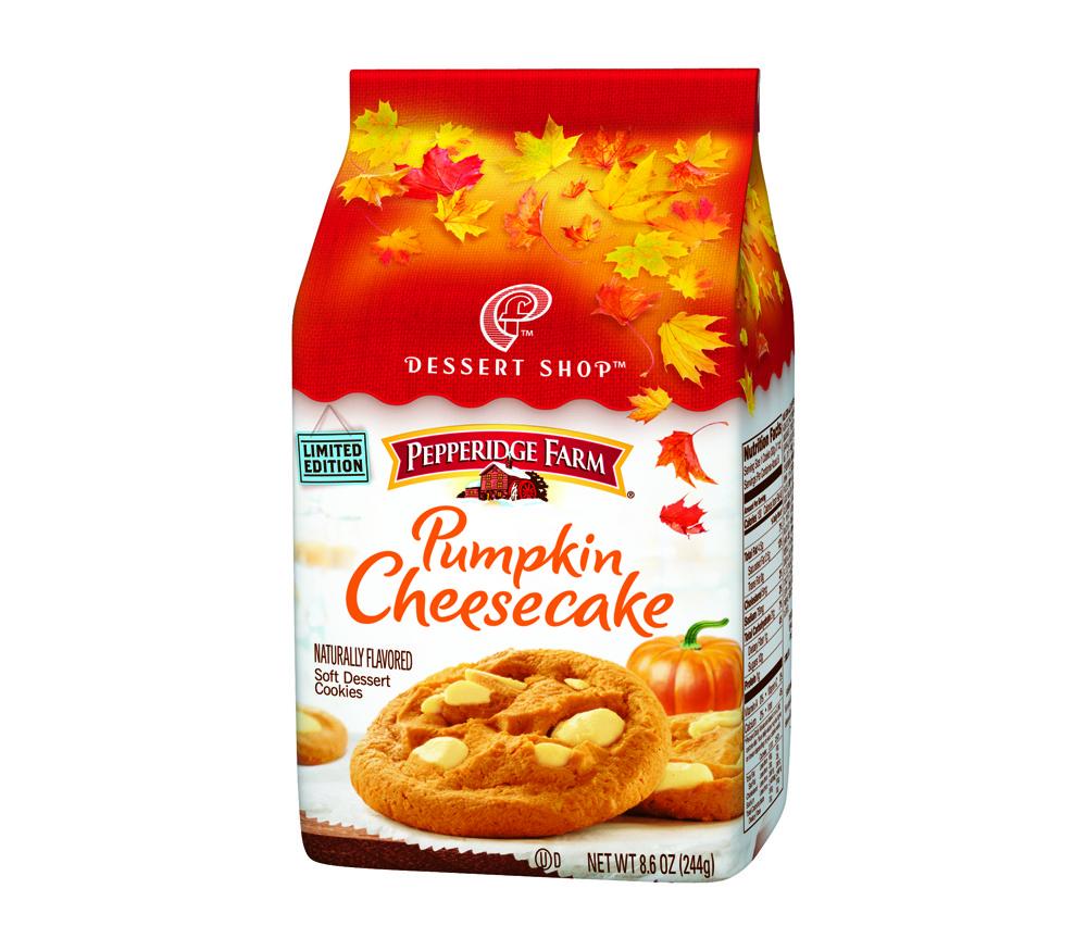 Snack Time  36 – Pepperidge Farm Pumpkin Cheesecake Cookies