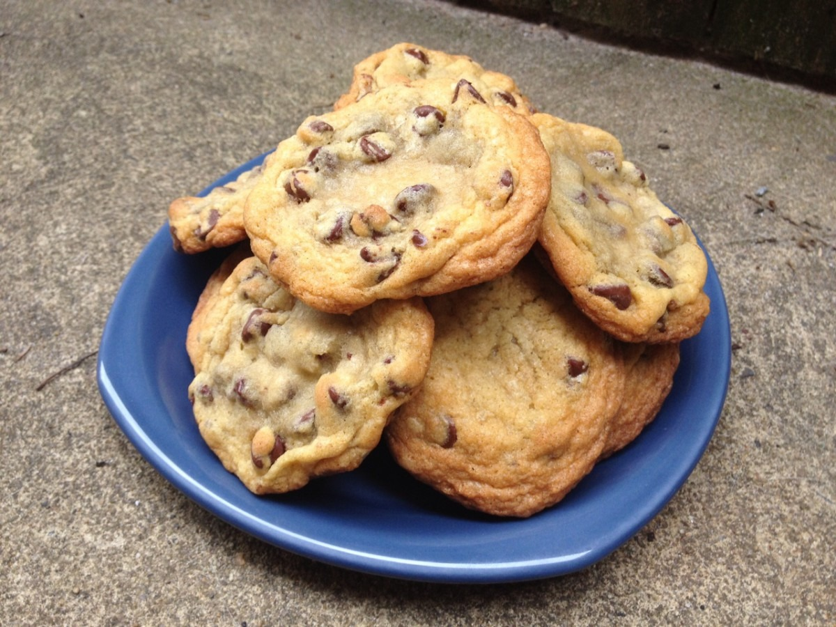 A Less Processed Life  What's Baking  Ghirardelli Chocolate Chip