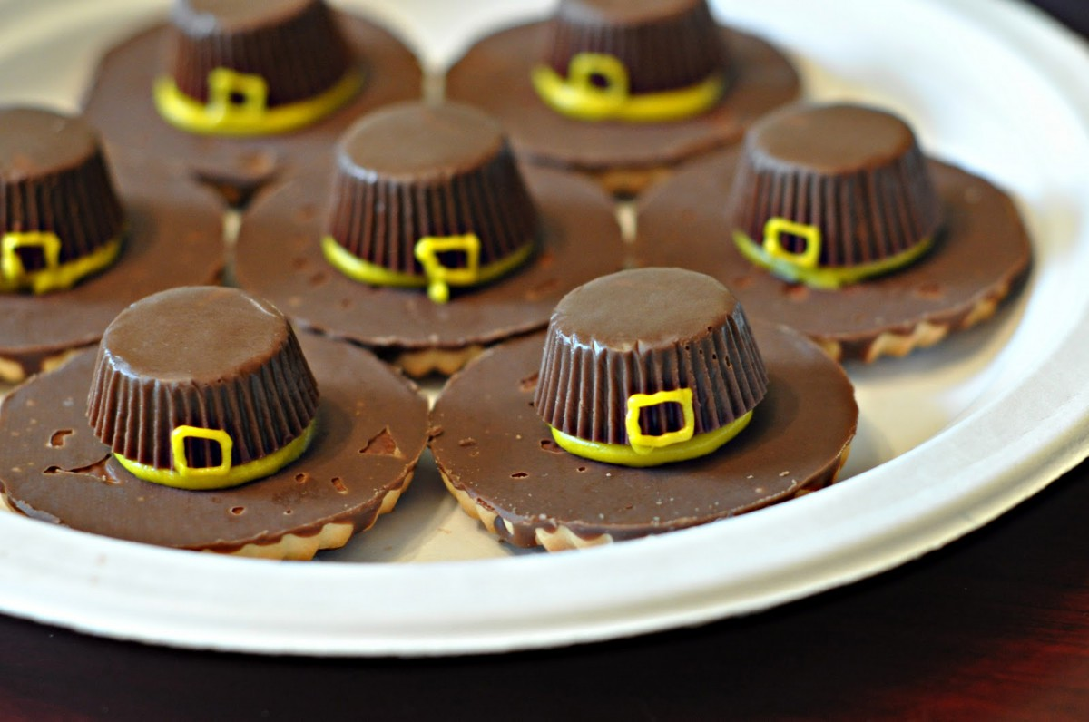 Craftily Ever After  Pilgrim Hat Cookies