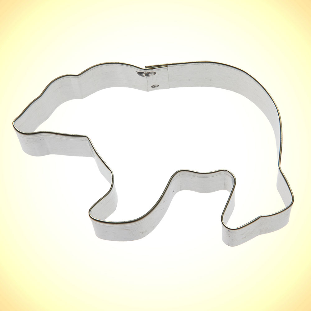 Polar Bear Cookie Cutter 4 In