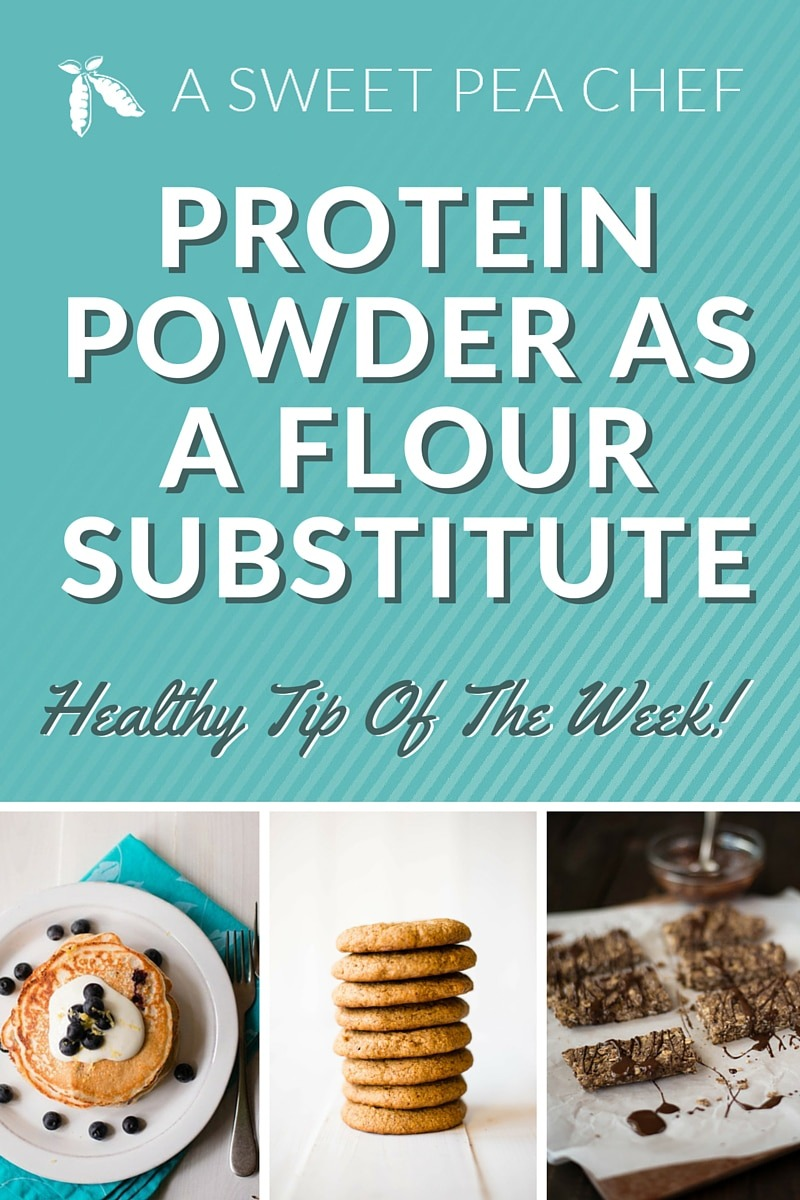 Protein Powder As A Flour Substitute