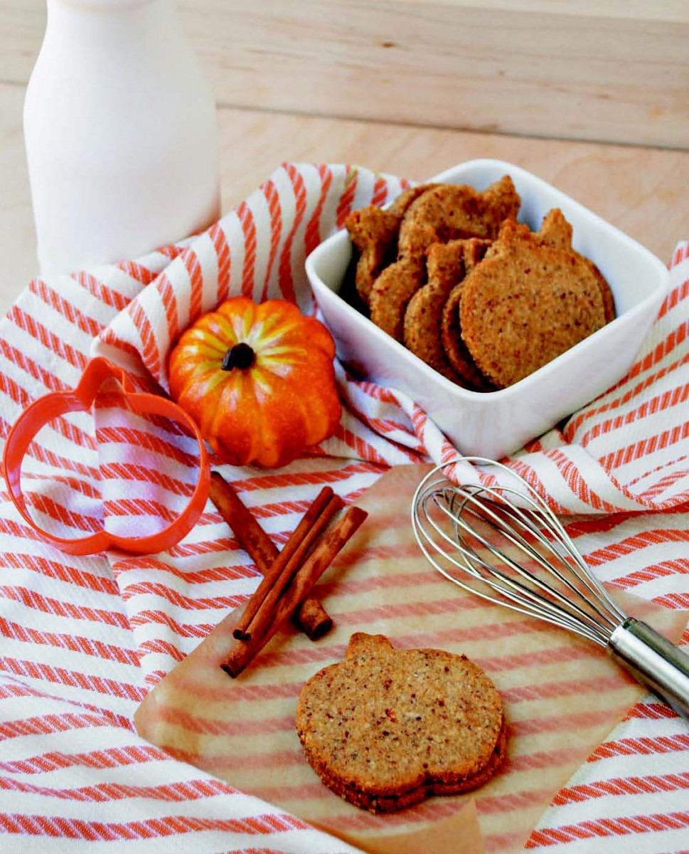 Pumpkin Spiced Cookie Cutter Cookies