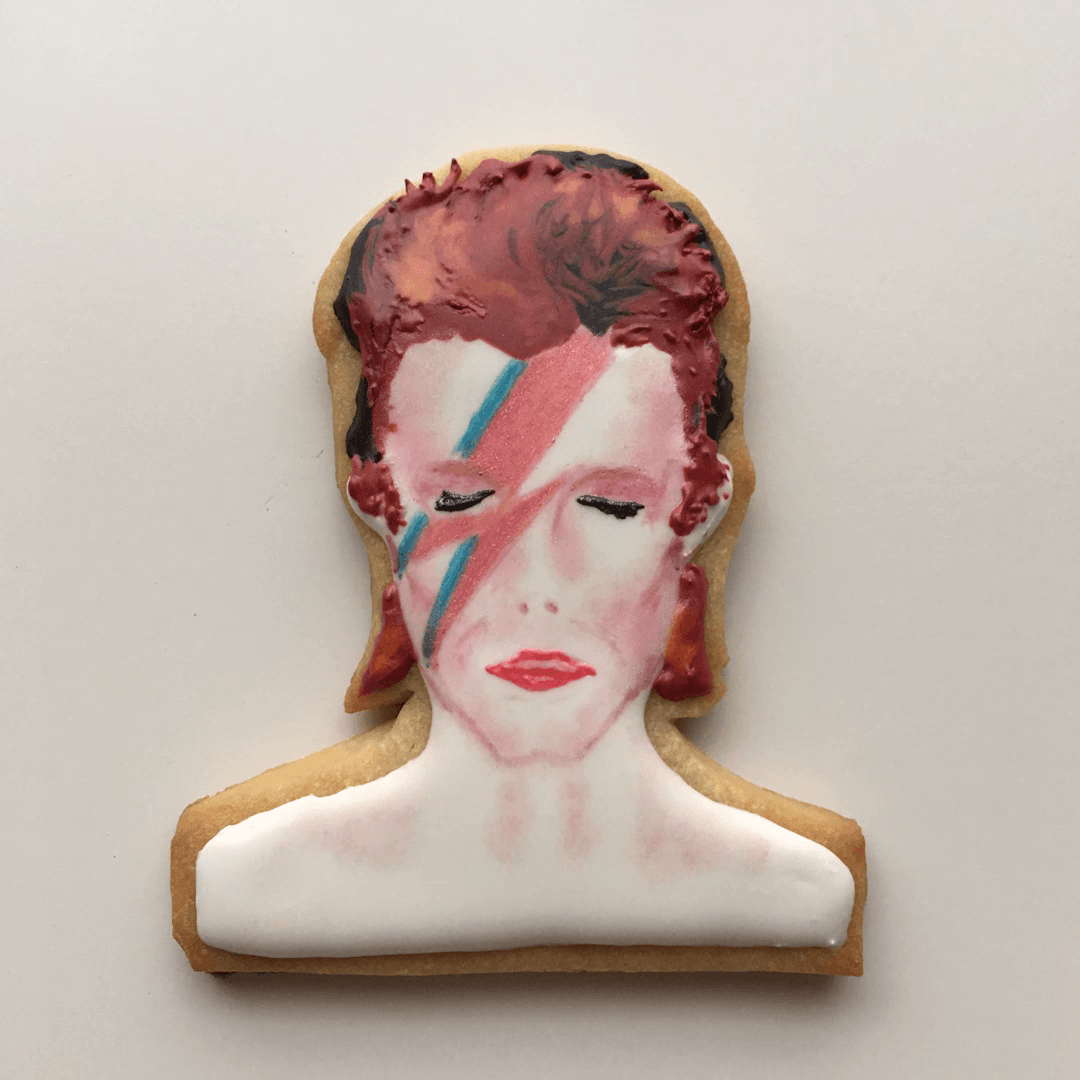 David Bowie ~ Cookie The News