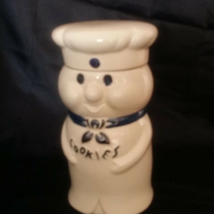 Pillsbury Doughboy Cookie Jar Vintage Ceramic Cookies Design Made