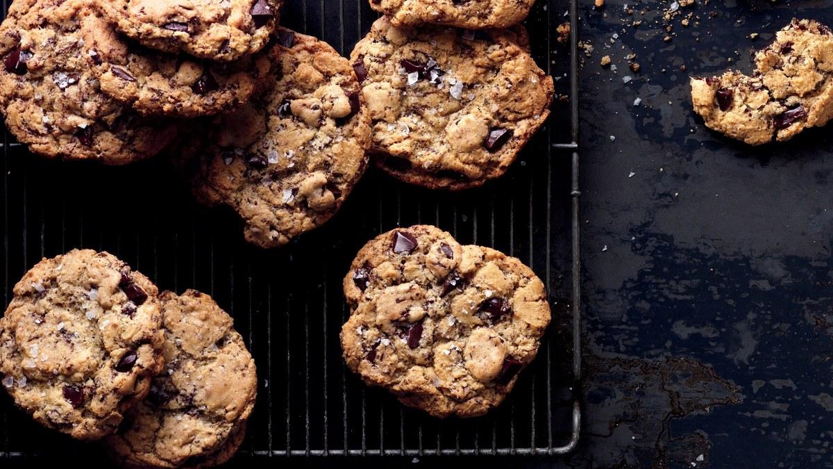 Salty Chocolate Chunk Cookies Recipe