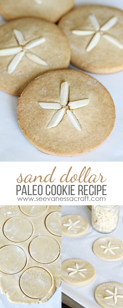 Recipe  Sand Dollar Paleo Cookies