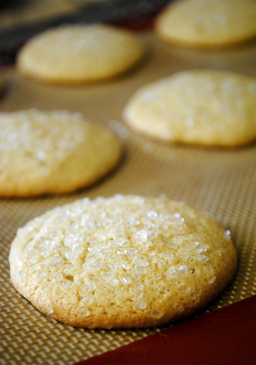 Old Fashioned Sour Cream Sugar Cookies