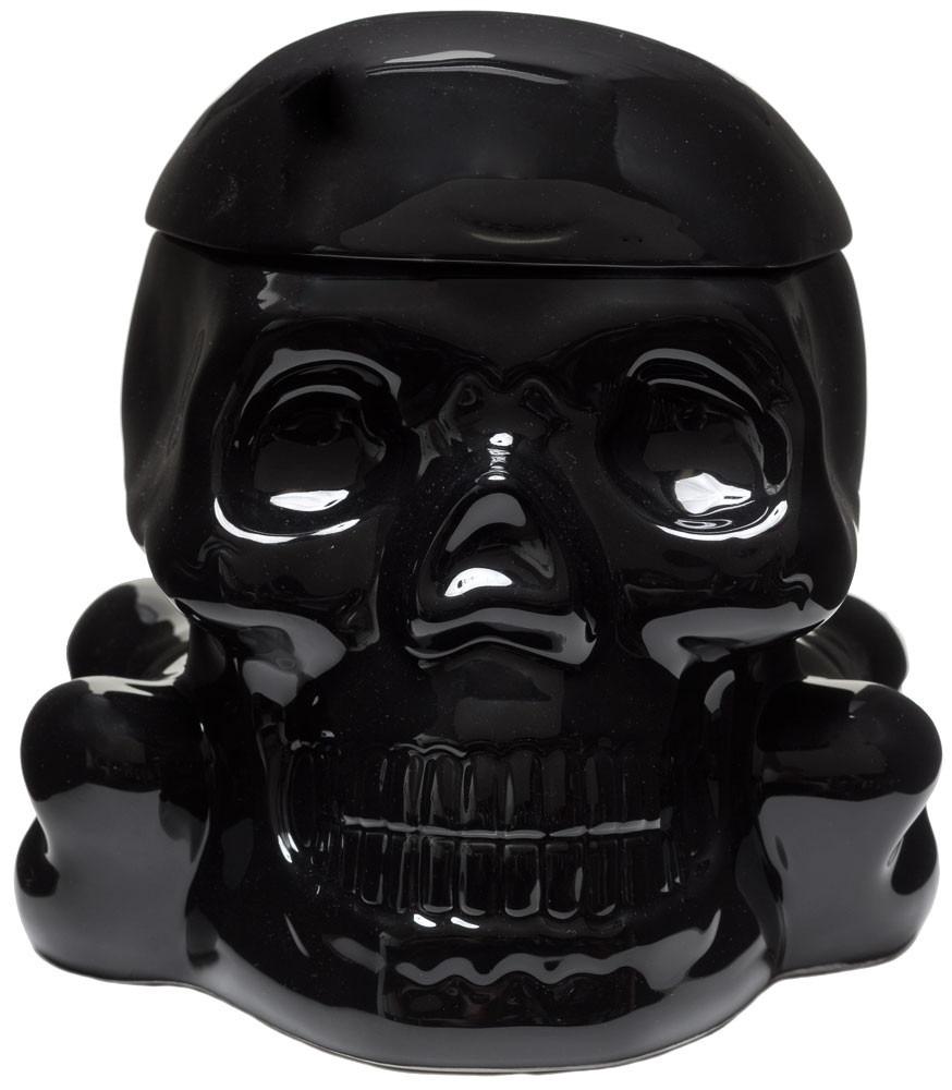 Skull Cookie Jar – Black – Demon