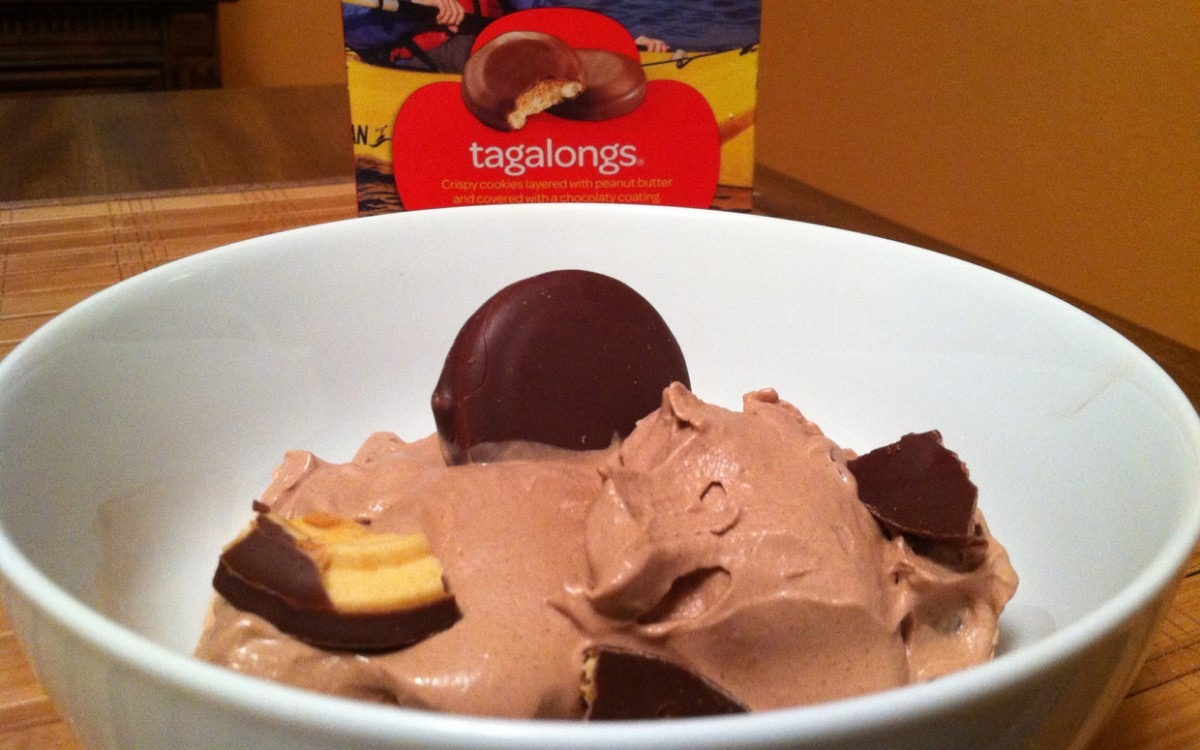 Tagalong Girl Scout Cookie Ice Cream