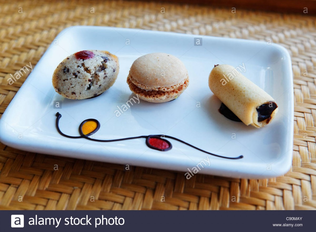 Tea Cookies Served During Turn Down Service, Shanti Maurice Resort